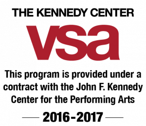 Kennedy Center VSA Logo 2016-2017