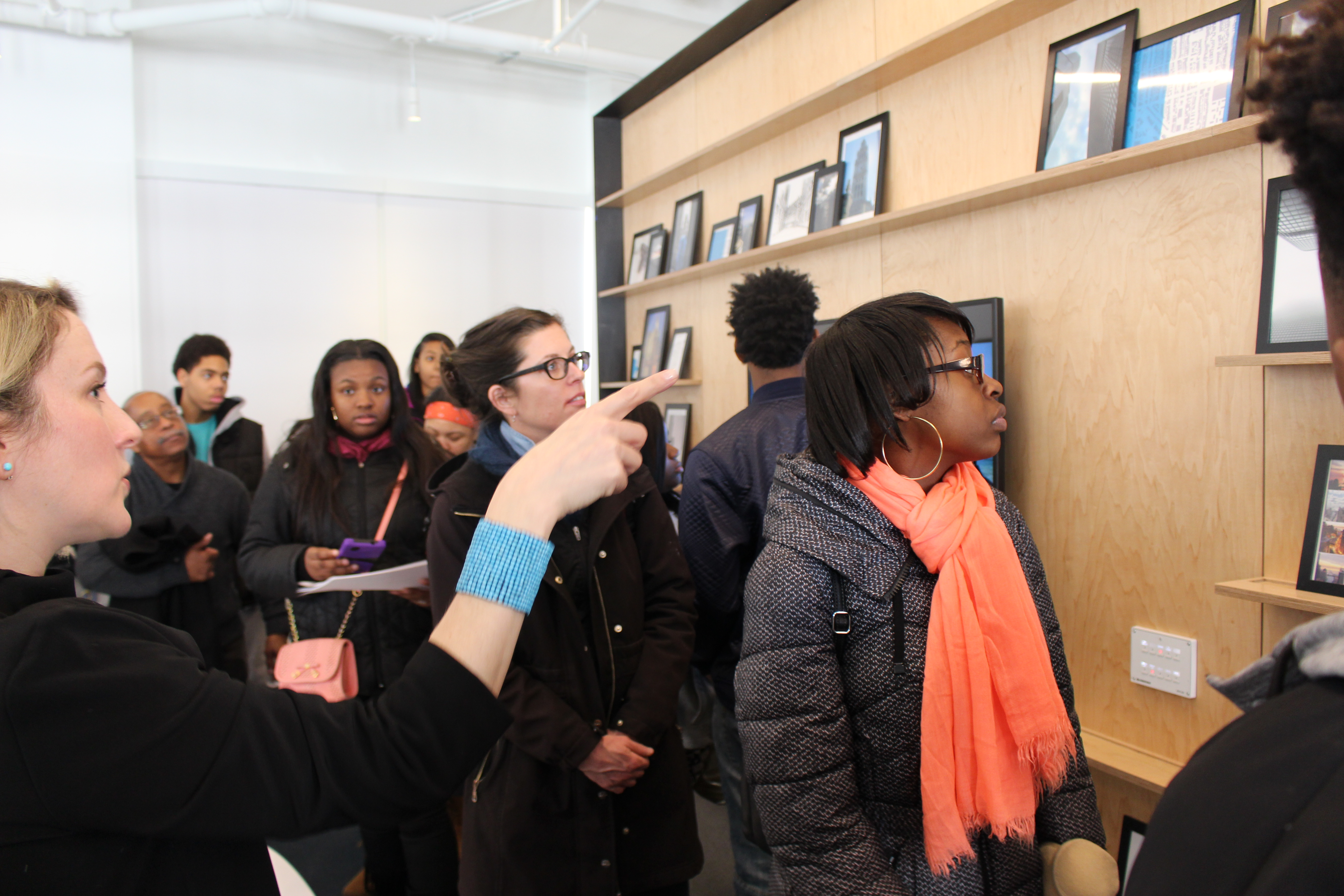 Williams Prep students tour Perkins+Will