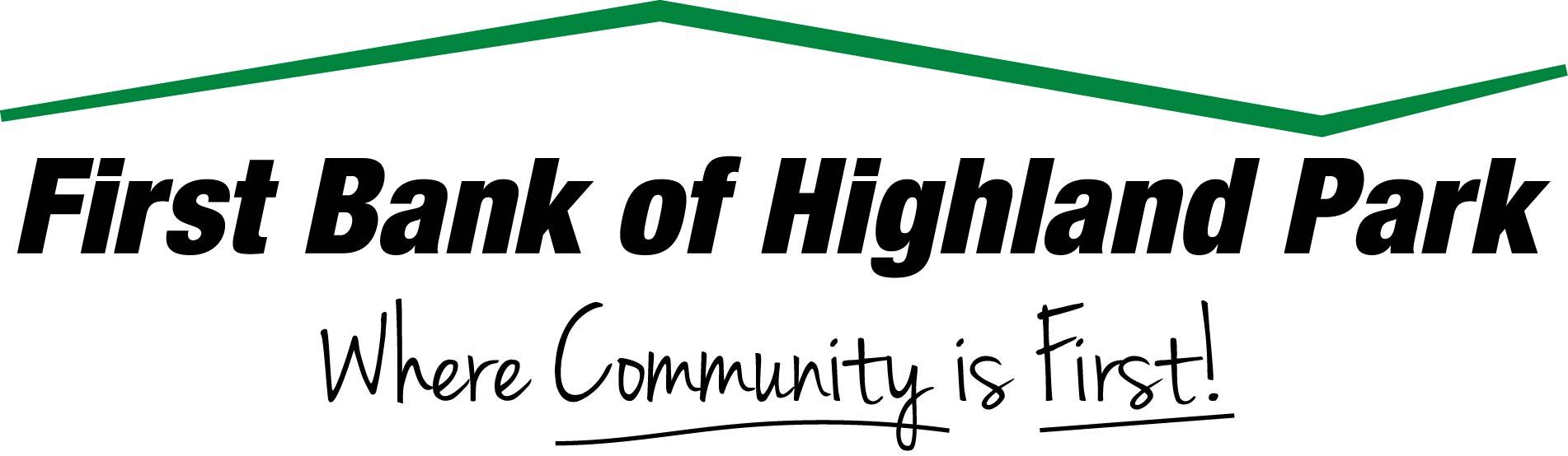First bank highland park logo 2015_FBHP_LogoTagline